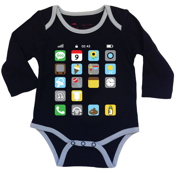 iPhone onesie