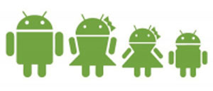 Android Family decals