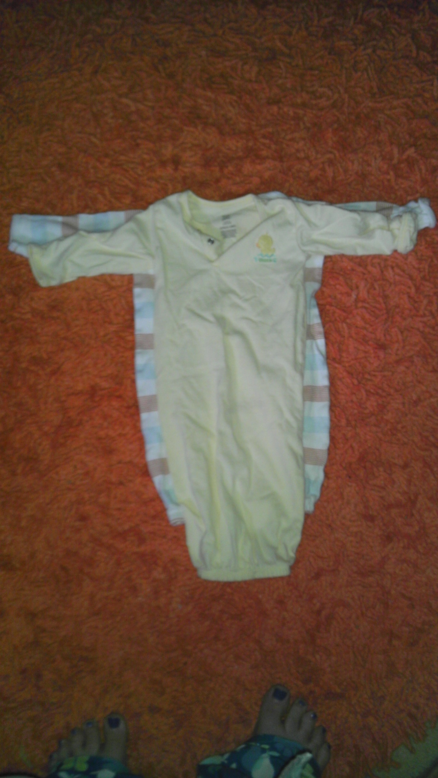 Carters versus Circo Layette Size 0-3 months