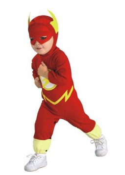 Justice League Flash Romper
