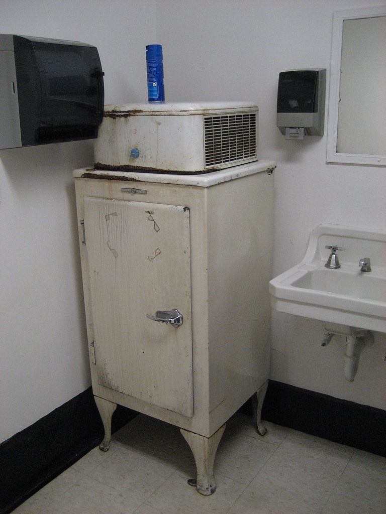 This is not the fridge American Home Shield worked on