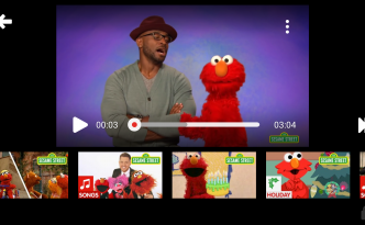 Elmo on YouTube Kids