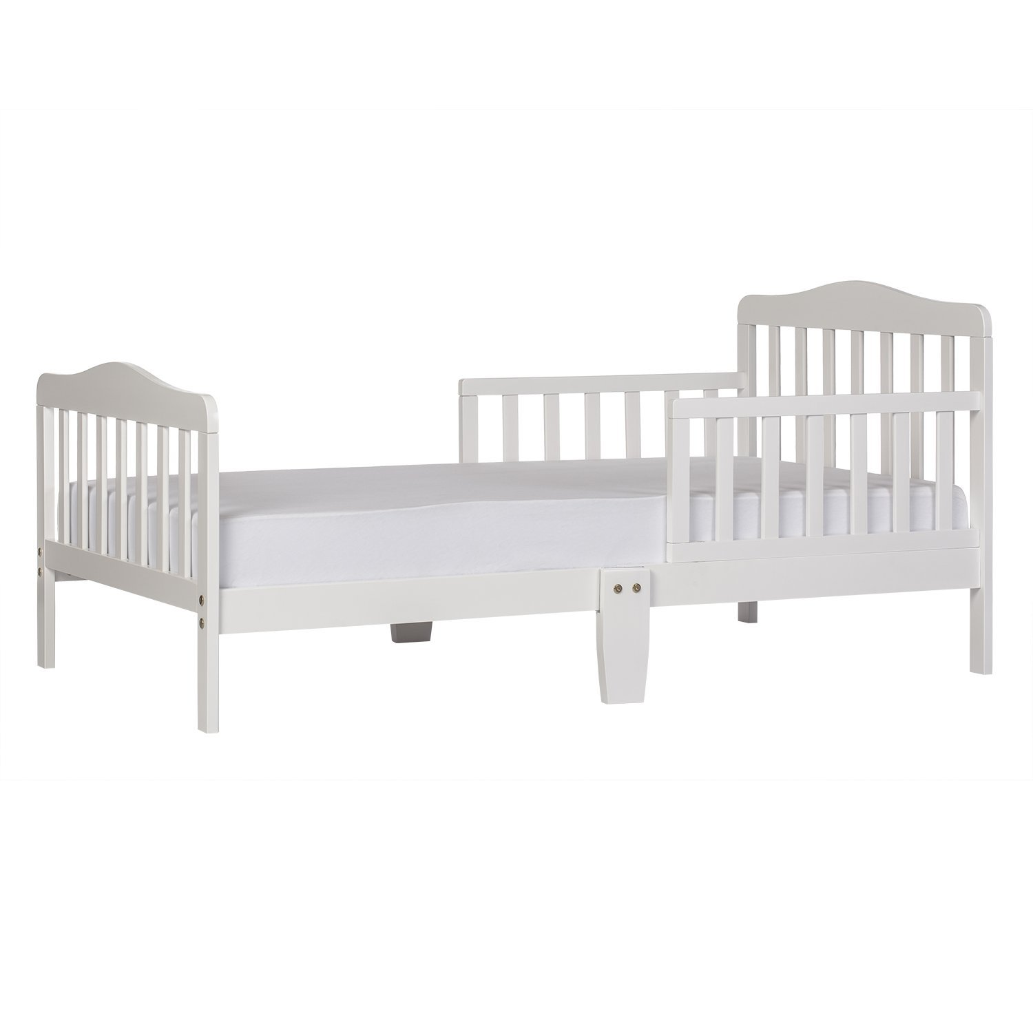 Dream On Me Classic Toddler Bed (white)