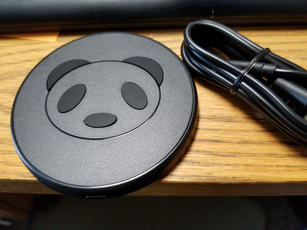 CHOETECH Qi Wireless Panda Charger