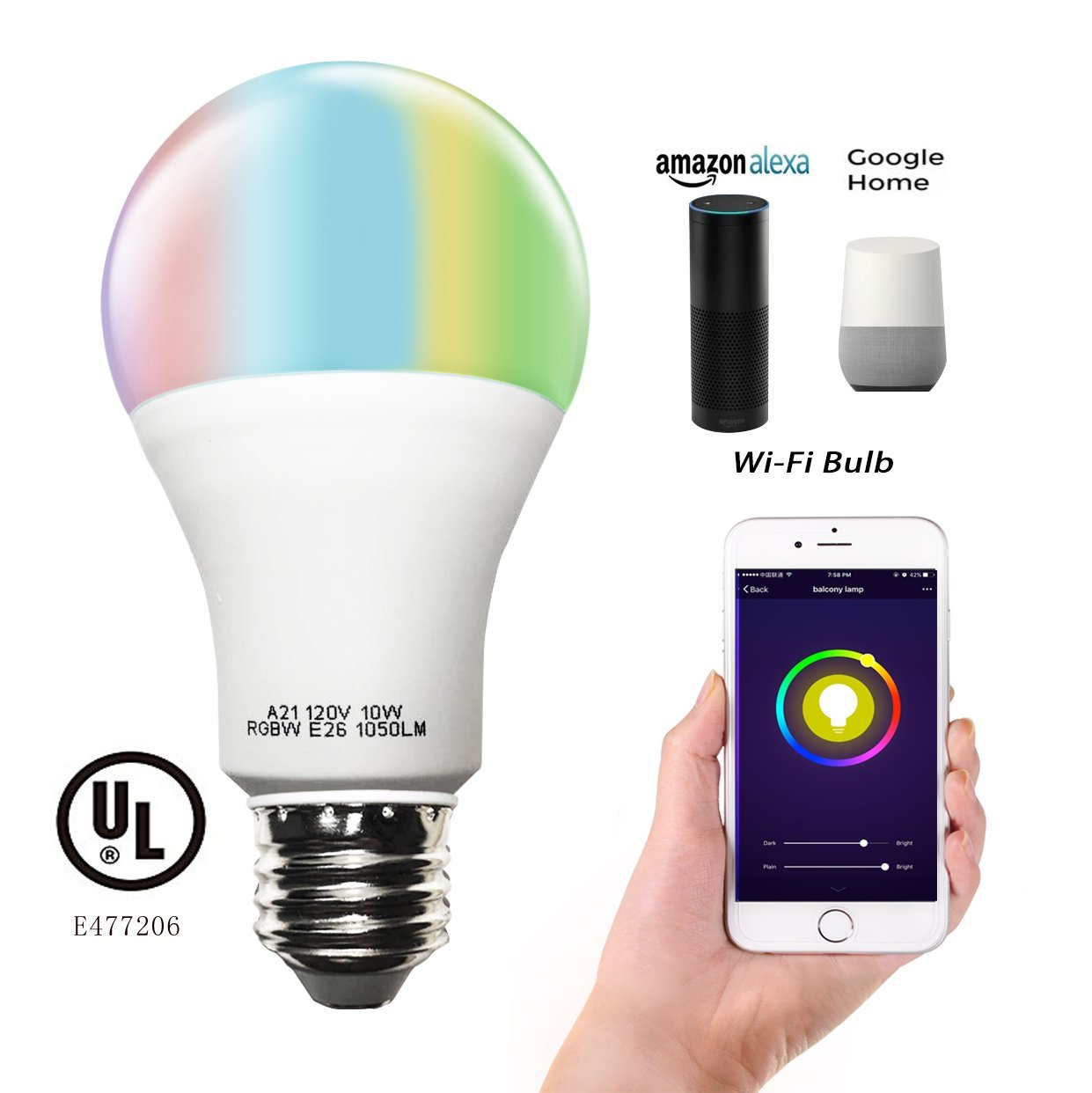 WiFi smart bulbs